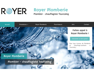 Royer Plomberie Tourcoing, Plomberie générale, Chauffage, Installation douche à l'italienne